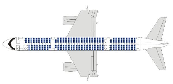 Схема компоновки воздушного
